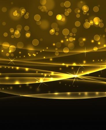 elegant black and gold background photo