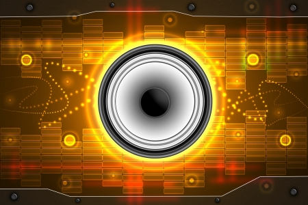Abstract music background  photo
