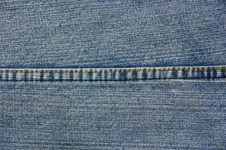 Seams on the denim texture, background textures. photo