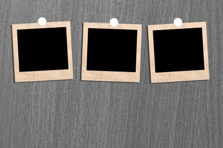 Antique picture frame on the wall. And space for text. Stock Photo - 15846877