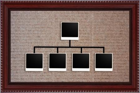 photo frame on board Stock Photo - 18043431