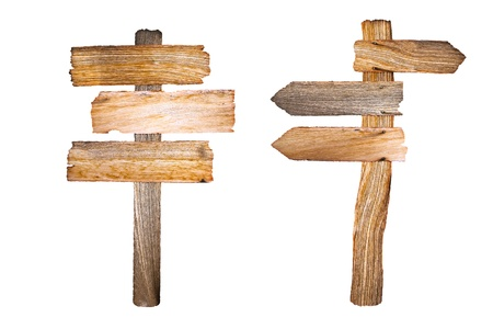 sign post: Wooden sign