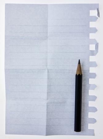 memorise: Notebook paper and pencil.