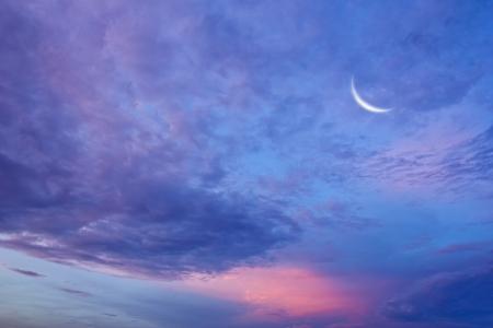 Sky and stars. photo