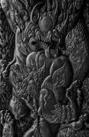 wood carvings: Wood carvings of northern Thailand.