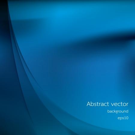Abstract blue background, vector illustration 矢量图像