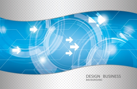 Abstract technology background design  矢量图像