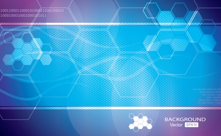 Blue abstract vector background graphics, medical illustrations. 矢量图像