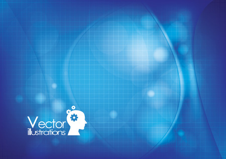 sciences: Vector illustration Background Medical Sciences Illustration
