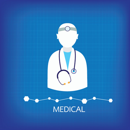 icons medical backgrund Vector