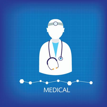 icons medical backgrund Vector