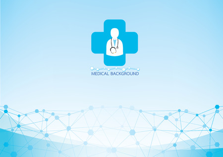 medical background vector Vector