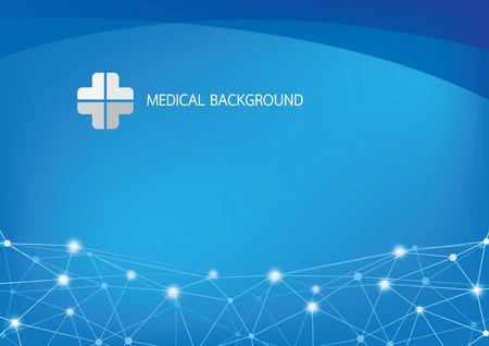 Vecteur de fond médical Banque d'images - 29196734