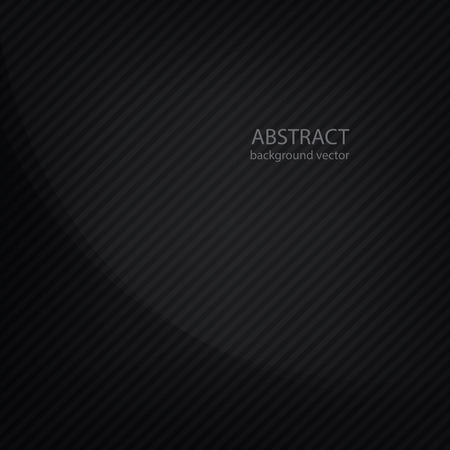 structure corduroy: Black background with strips Illustration