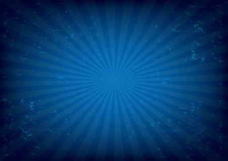 blue: Radial background vector illustration. Illustration