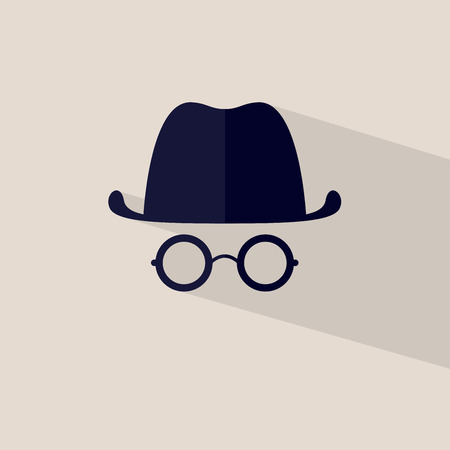 manipulation: Icon hat and glasses file layered for easy manipulation and custom coloring.