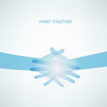 teamwork hands: Handshake, Teamwork Hands.