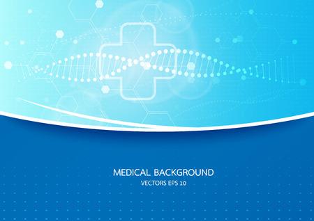 medical background vector Illustration
