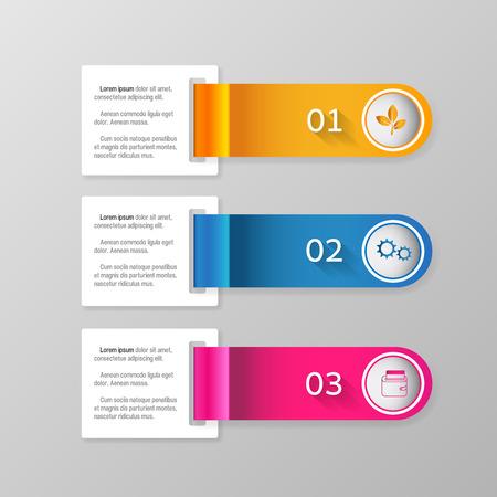 modern business: Modern infographics business design options