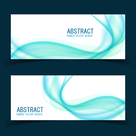 Vector abstract design banner template.vector illustration.Perfect background design for headline and sale banner.blue and pink waved lines for brochure, website, flyer design. Transparent wave.