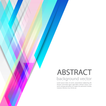 Vector of abstract geometric pattern and background for your presentation.  イラスト・ベクター素材