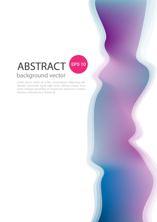 Abstract dynamic.Contour line.Vector Illustration. Design Template. Modern Pattern. Иллюстрация