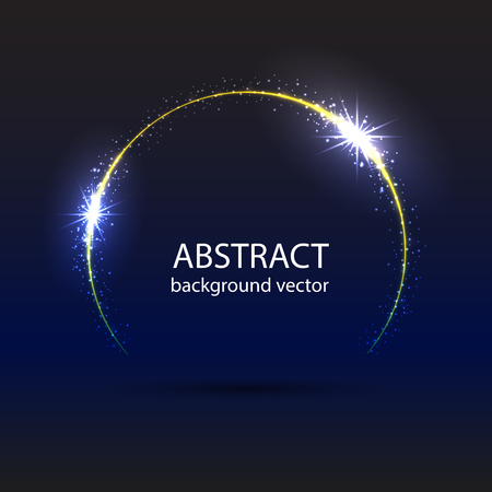 Vector abstract blue motion light effect background. Perfect background design for headline and sale banner. 矢量图像