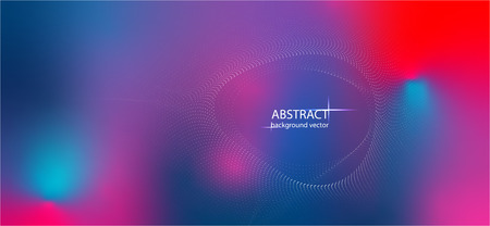 Banner vector abstract colorful lines motion light effect background.