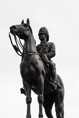 King Rama 5 Equestrian Monument Stock Photo