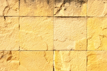 Sandstone brick photo