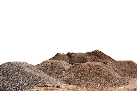 Mound isolated on white background