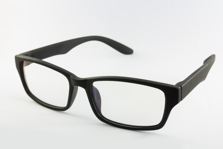 Spectacles eyeware isolated on white background photo