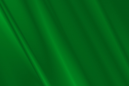 lybia: Green satin or Lybia flag on fold soft and smooth luxury satin fabric texture background