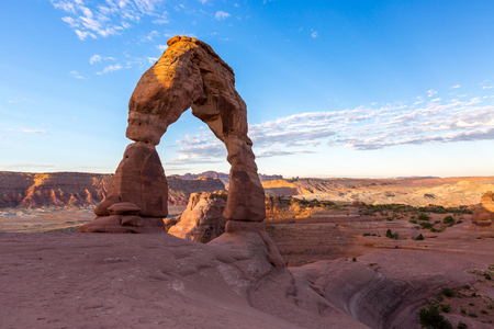 Delicate Arch in Arches National Park, Moab, Utah.