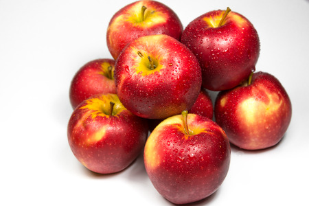 make known: Apple is known as Princess fruit because it contains with many Vitamins and nutrient such as A, B1, B2, Biotic, Folic Acid and so on. The taste is also delicious, sweet and juicy, this make apple become popular fruit world wide. Stock Photo