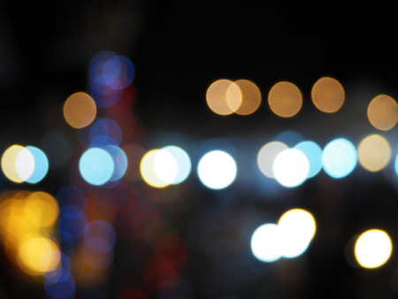 Night Blurred Background
