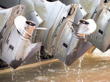 speed boat propeller