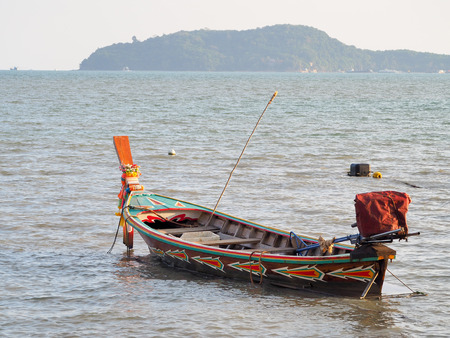 Fishing boat. Southern of Thailand. Stockfoto