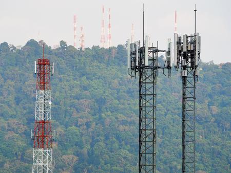 communication Tower Mobile phone Reklamní fotografie - 98482047