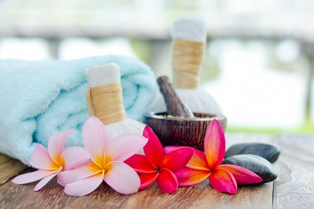 Beauty and spa therapy concept