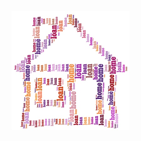 House info-text graphics and arrangement concept photo