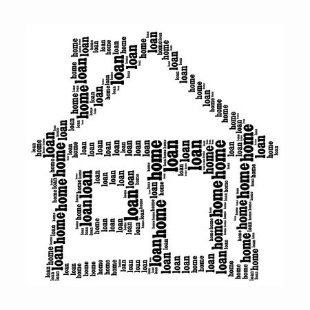 subprime: House info-text graphics and arrangement concept