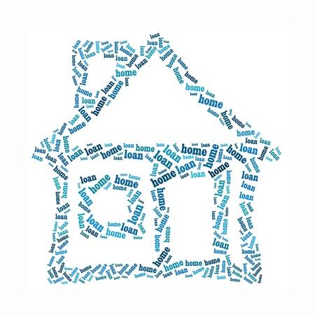 House info-text graphics and arrangement concept