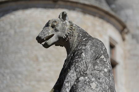 gargouille: Gargoyle from Dordogne, France