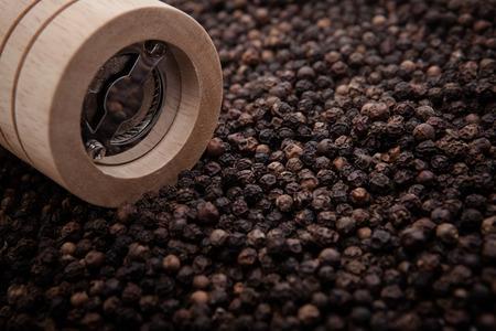 Bottle black Pepper Mill