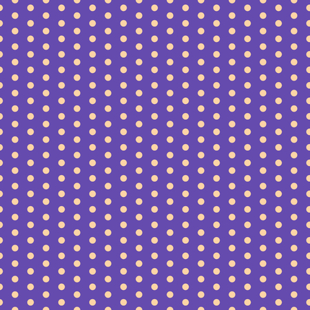 Baby background. Polka dot pattern. Vector illustration with small circles. Dotted background.