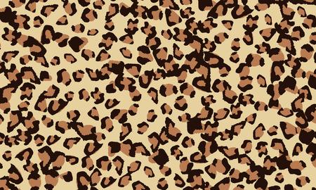 Leopard print design. Animal skin pattern. Vector illustration. Banque d'images - 120490384