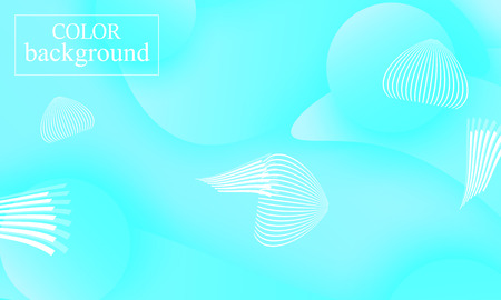 Blue abstract background. Sea water pattern. Shapes blue. Vector illustration. Illustration