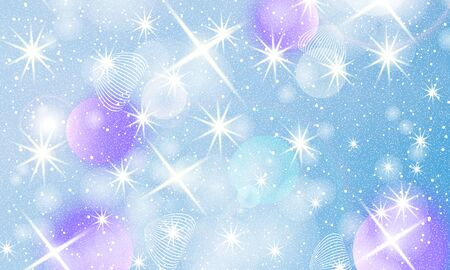 Purple sparkling gradient backgrounds. Fantasy universe. Cosmic galaxy backdrop. Unicorn pattern. Fairy background.