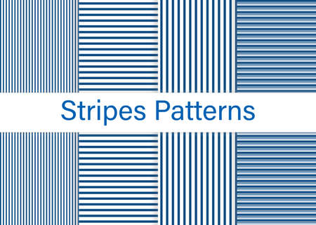 Stripe pattern. Trendy colors background. Vector illustration. Horizontal, vertical stripes pattern.